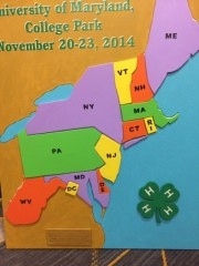 12 states and the District of Columbia make up the NERVF. I tweeted this and many images while at the NERVF