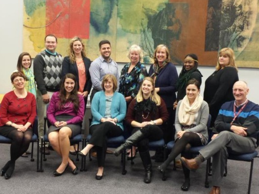 University of Delaware Social Media Marketing Stratey Certificate Class Fall of 2014. Photo by Lori Mayhew
